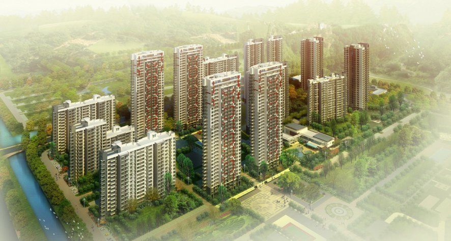 Central Park City Plot C1, China
